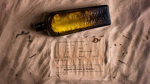 Record-Breaking 131-Year-Old Message In A Bottle Found in Australia
