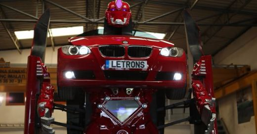 Video Of The Week — Letvision's BMW Letron Is Almost As Good As Optimus Prime