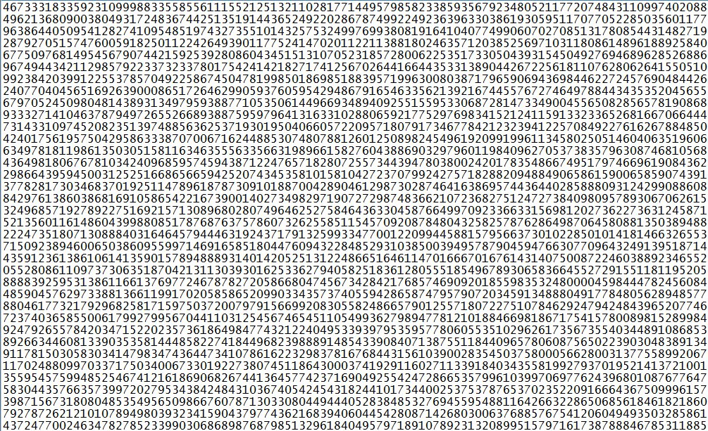 Newly Discovered Largest Prime Number Could Fill Up 9,000 Pages!