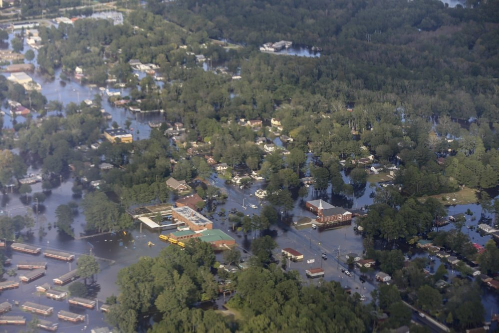Hurricane Florence Causes Widespread Flooding in The Carolinas