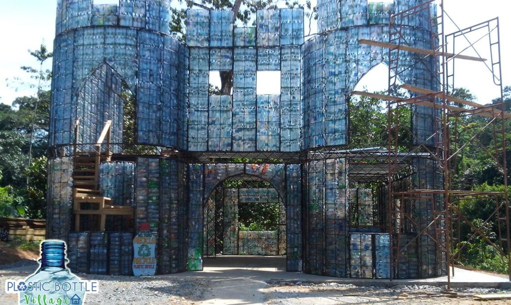 Panama's Plastic Bottle Village Will Be Constructed From Recycled PET Bottles