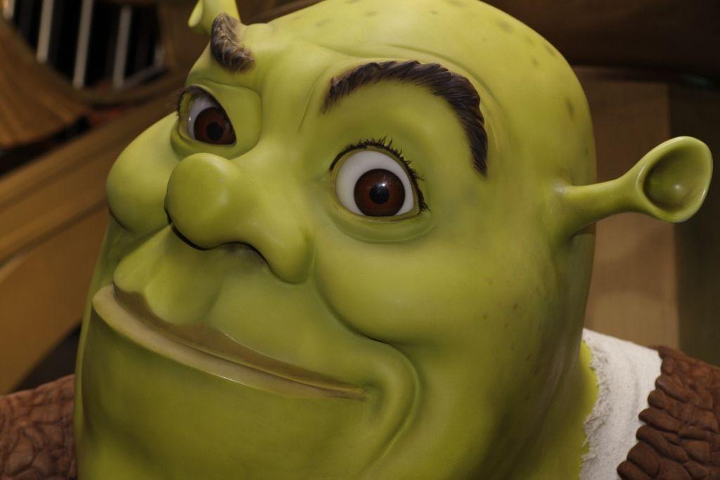 Shrek Goes Abroad