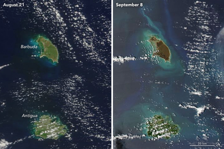 Monster Hurricane Irma Makes Its Presence Felt In The Caribbean And Florida