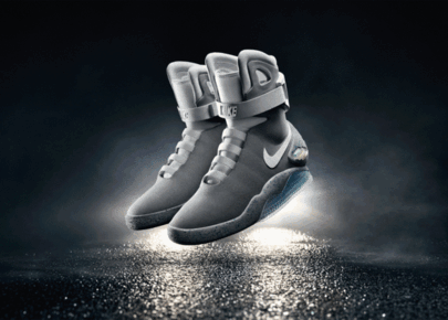 Nike Unveils Marty McFly's Iconic Power-Lace Shoes On 'Back To The Future' Day