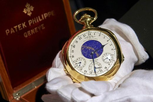World's Most Complicated Watch Auctions For Record $24 Million