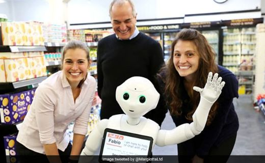 "Scottish Grocery Store ""Fires"" Robot Employee For Being Incompetent"