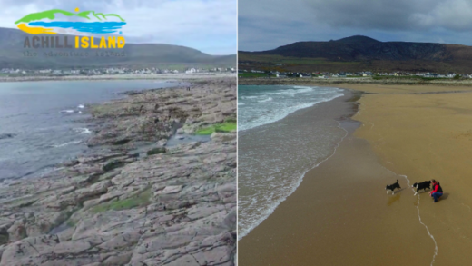 Lost Irish Beach 'Magically' Reappears After 33 Years