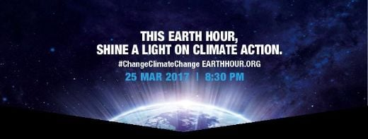 Join The Earth Hour Party By Going Dark For Sixty Minutes This Saturday