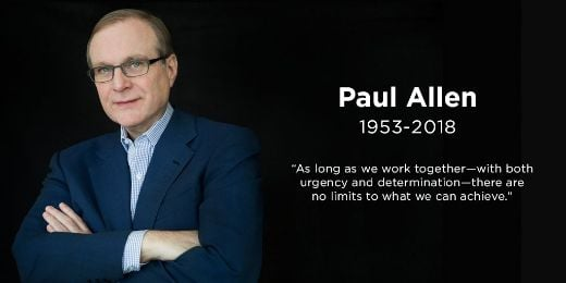 Microsoft Co-Founder, Philanthropist Paul Allen Leaves A Lasting Legacy