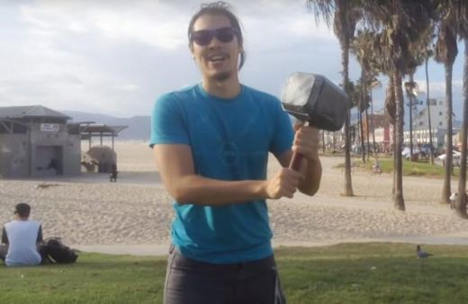 Video Of The Week - Engineer Builds Real-Life Thor Hammer