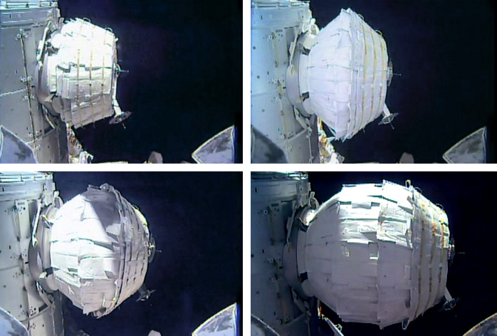 ISS Astronauts Begin Testing BEAM — The World's First Inflatable Space Habitat