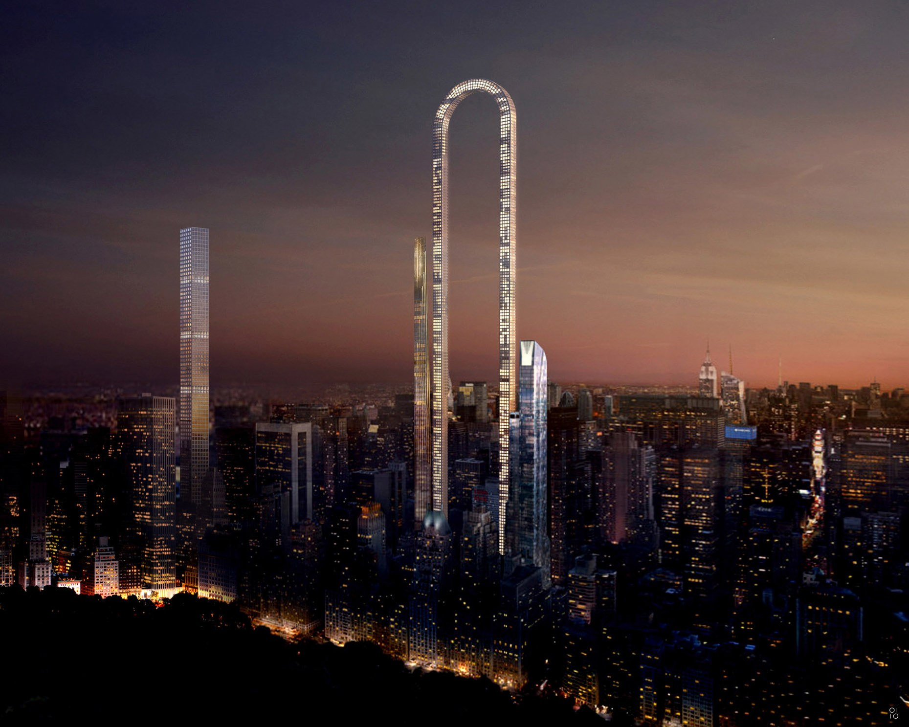 "New York City's Skyline May Get Even More Interesting With The ""Big Bend"""