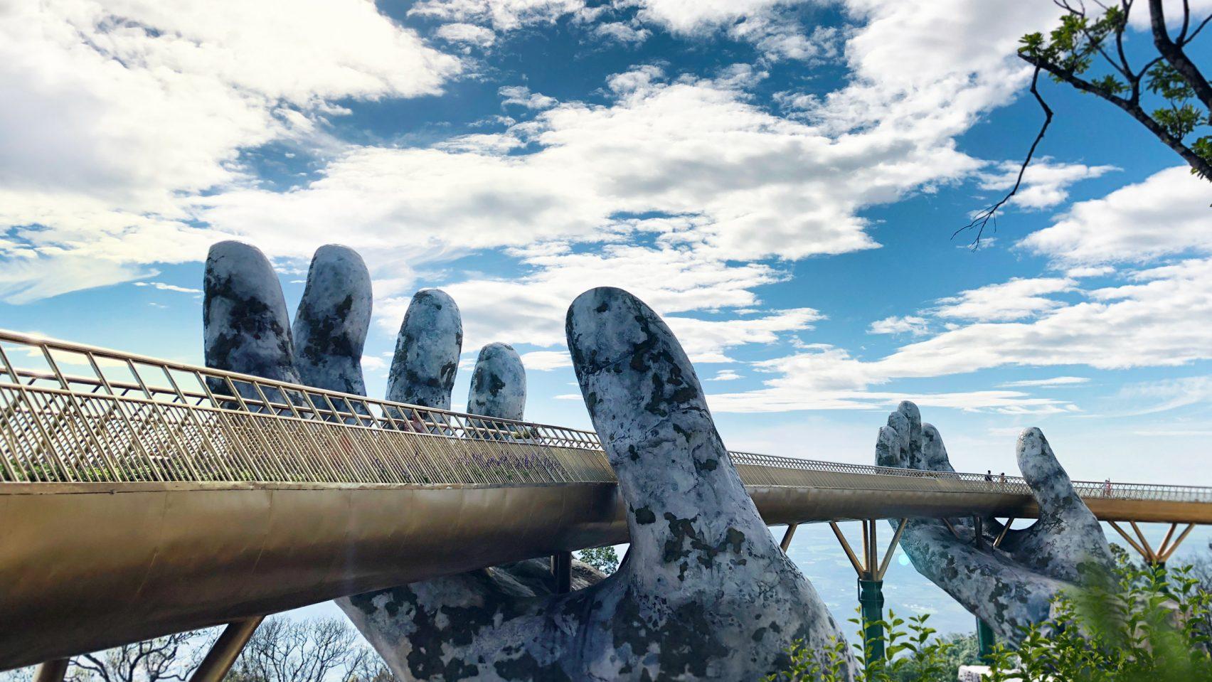 Vietnam's Cau Vang Bridge Is Like None Other