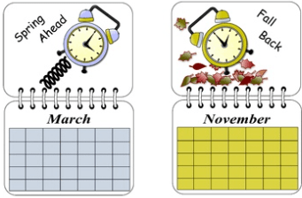 It's Time To Fall Back: Daylight Saving Time Ends On November 3, 2019