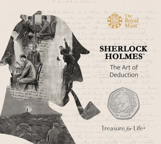 Popular British Detective Sherlock Holmes Honored On The Royal Mint's New Commemorative Coin