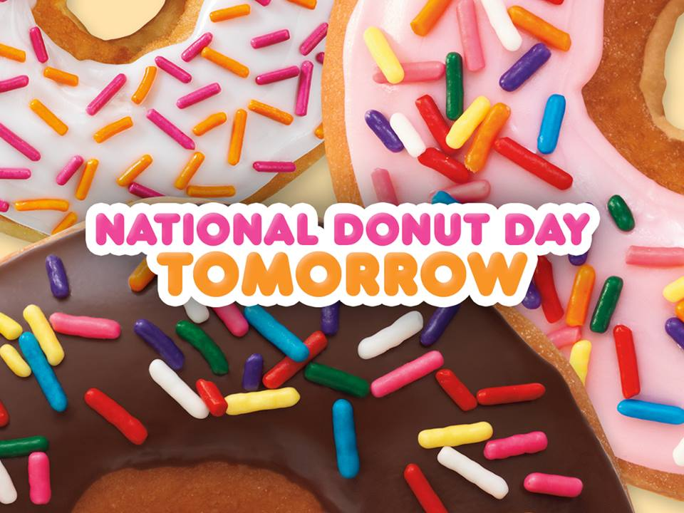 Perfect It39s Almost National Donut Day Kids News Article