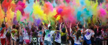 India's Holi Festival Welcomes Spring With Vibrant Bursts Of Color