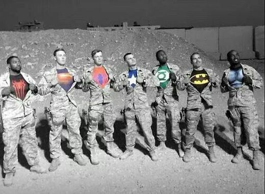 Veterans Day Celebrates Our Real-Life Superheroes