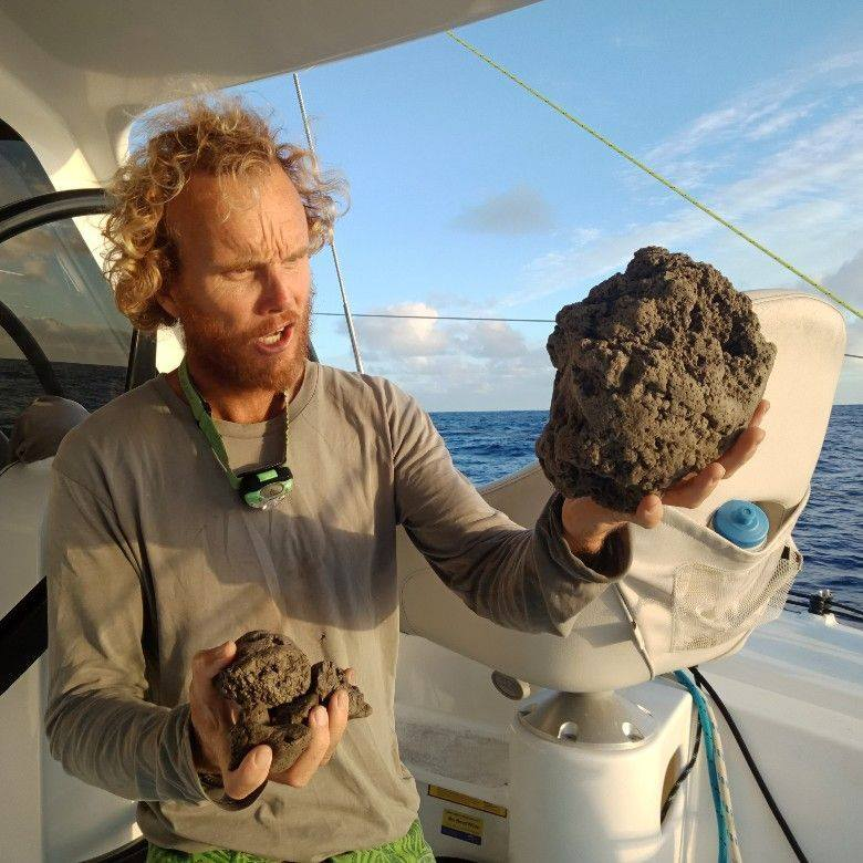 Can A Giant Floating Pumice Rock