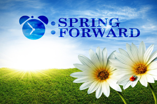 Don't Forget To 'Spring Forward' This Weekend