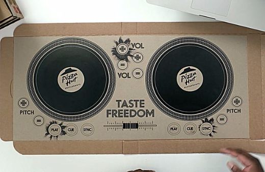 Pizza Hut Unveils The World's First Playable DJ Pizza Box