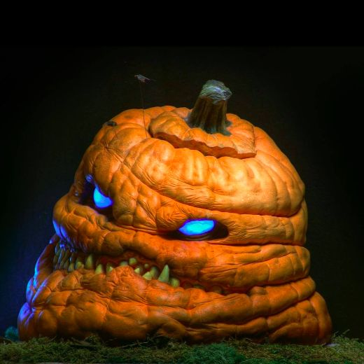 Ray Villafane's Pumpkin Carvings Are Like None Other