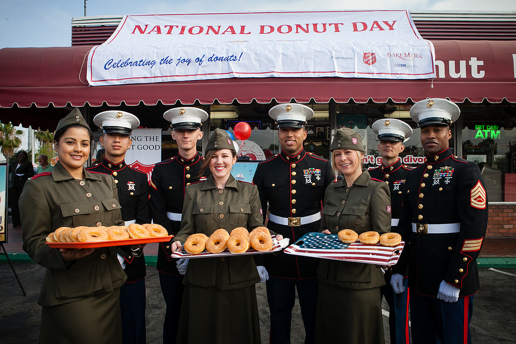 The Salvation Army celebrates National Donut Day