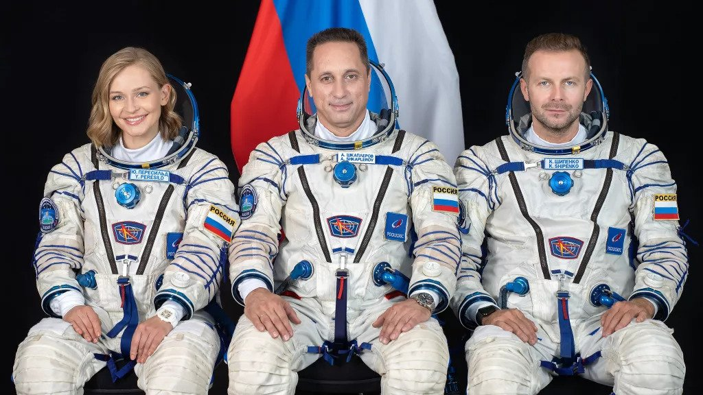 Russian Crew Is The First To Film A Fiction Movie In Space