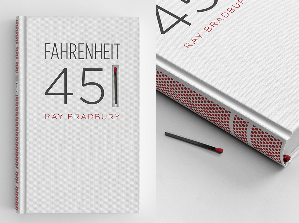 Special Edition Of Fahrenheit 451 Can Only Be Read By