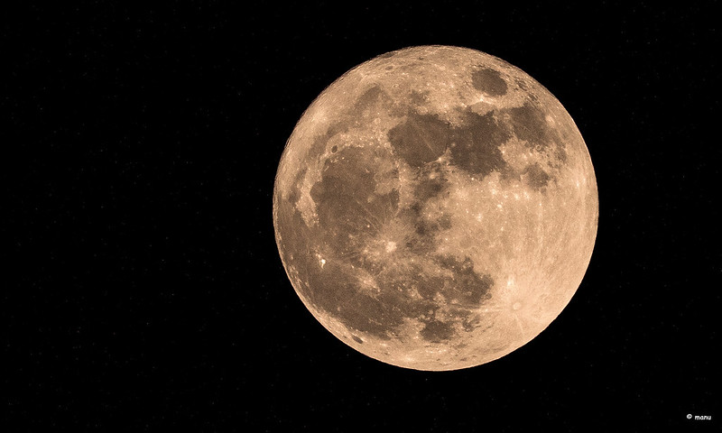Brightest supermoon of the year seen on April 8