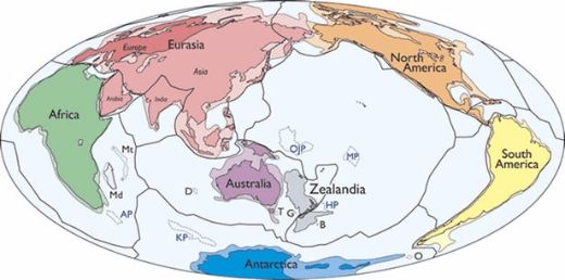 "Should The Nearly Submerged ""Zealandia"" Be Classified As A Continent?"