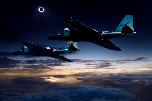 "Why NASA Researchers Plan To Chase The ""Great American Eclipse"" In Jets"