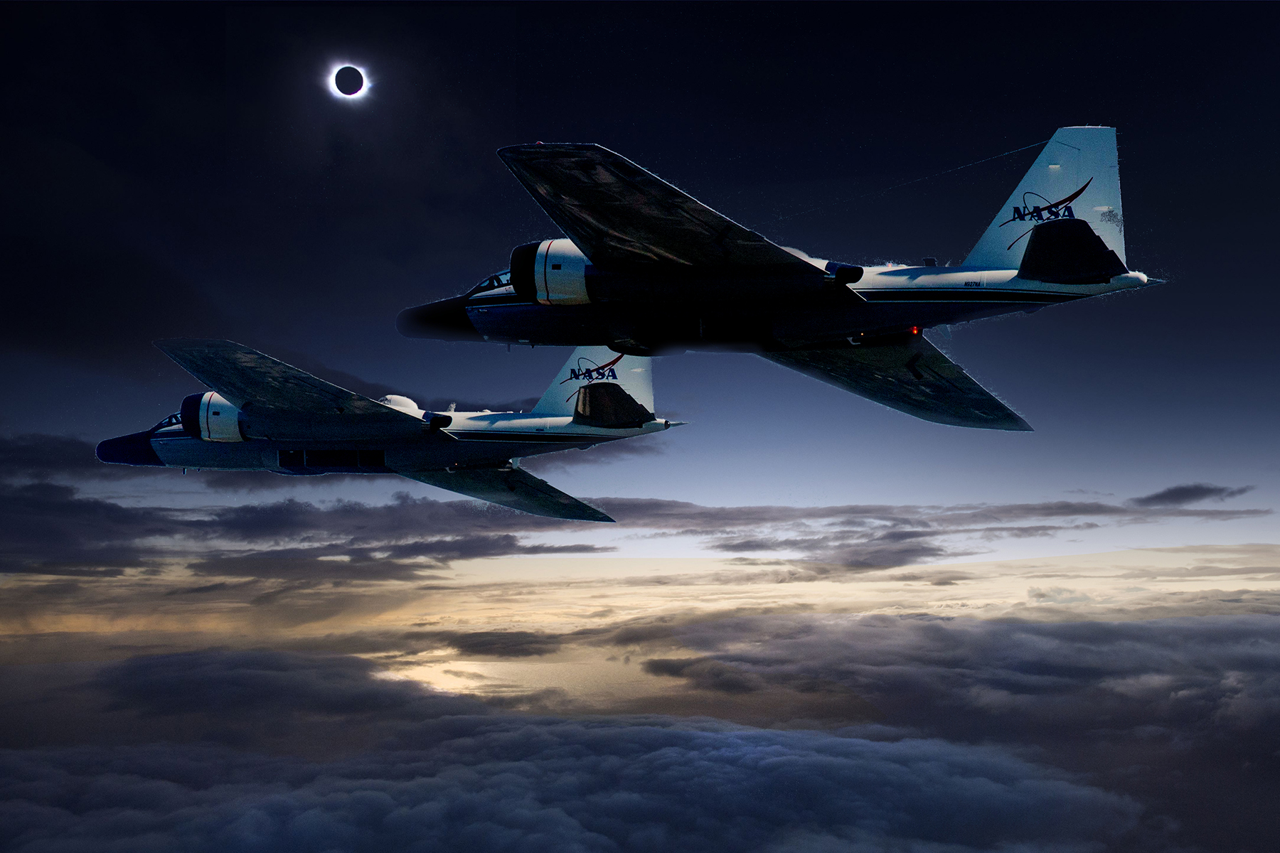 """Why NASA Researchers Plan To Chase The """"Great American Eclipse"""" In Jets"""