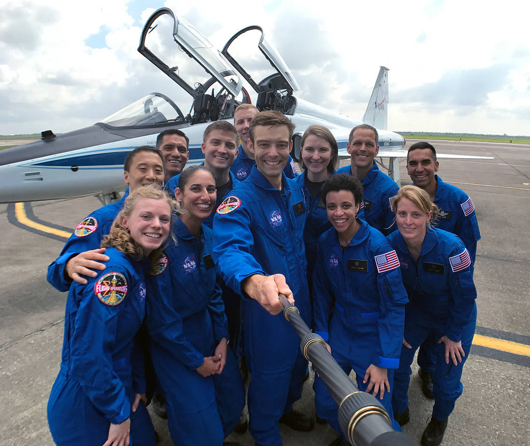 NASA's Newest Astronaut Recruits Report For Training