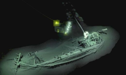 World's Oldest Intact Shipwreck Discovered In Black Sea Dates Back 2,400 Years!
