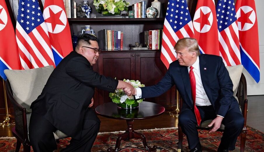 United States And North Korea Strive For Peace At Historic Singapore Summit