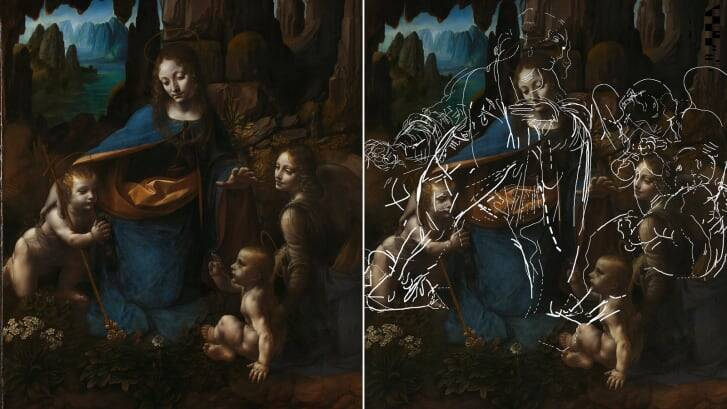 Hidden Drawing Discovered Under 500-Year-Old Leonardo Da Vinci Masterpiece