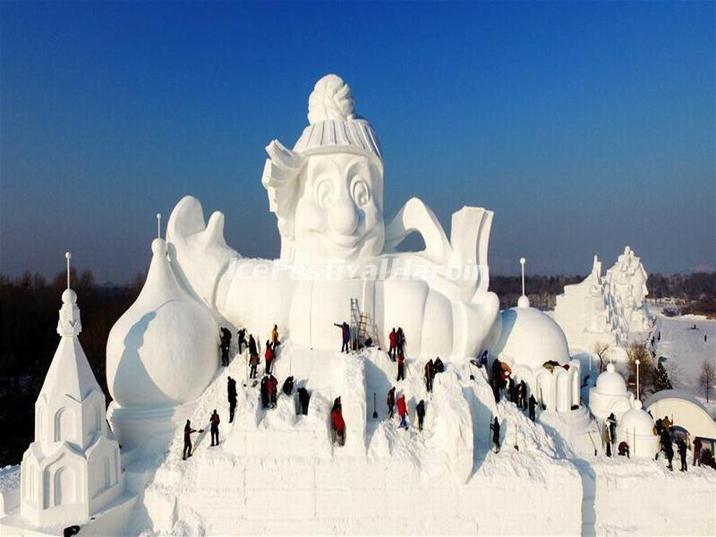 China S Spectacular Harbin Snow And Ice Festival Never Fails To Impress Kids News Article