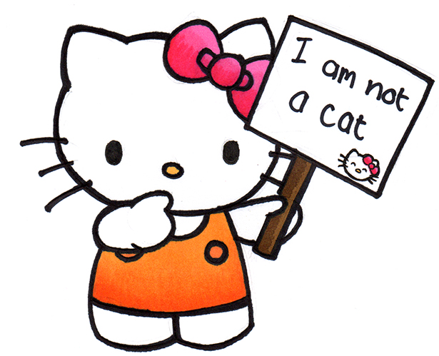1bdef143e Hello Kitty Begins Her 40th Birthday Celebrations By Declaring She Is Not A  Cat! Kids News Article