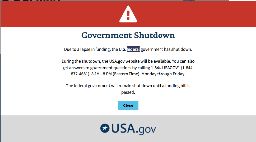 The US Government Has Shut Down. What's Next?