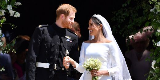 Prince Harry And Meghan Markle Wed In Fairytale Ceremony