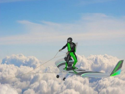 Wingboarding May Allow Thrill-Seekers To Soar Amid Clouds