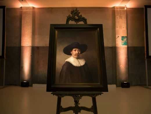 Computer Generated 'Rembrandt' Painting Unveiled in Amsterdam