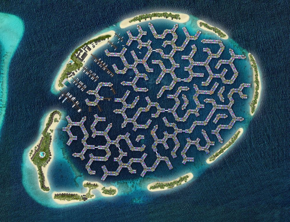 Maldives Unveils Plans For The World's First Floating Island City