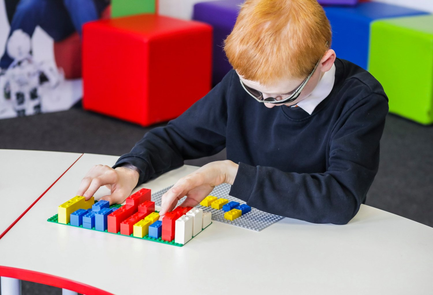 LEGO's New Bricks Make Learning Braille Fun For Visually Impaired Students