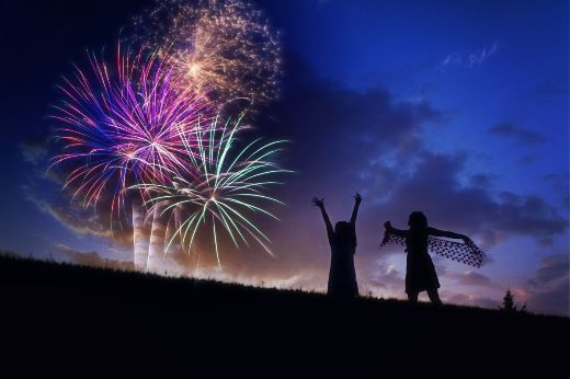 Fireworks_silhouette_fourth_of_july_celebration_euphoria_happy_cheering_night-719719-1-medium
