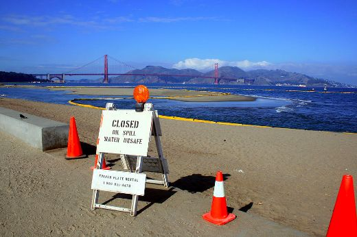 58,000 Gallon Oil Spill In San Francisco Bay