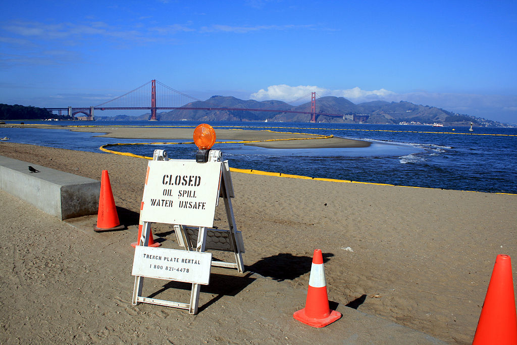 58,000 Gallon Oil Spill In San Francisco Bay