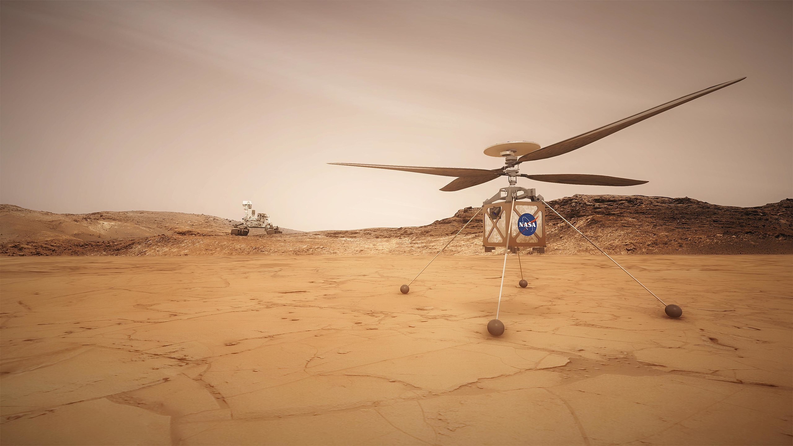 NASA Plans To Send A Helicopter To Mars In 2020