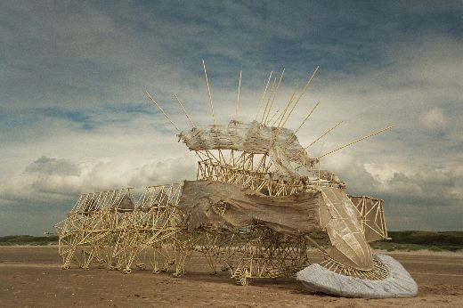Theo Jansen's Whimsical Strandbeests Come To America